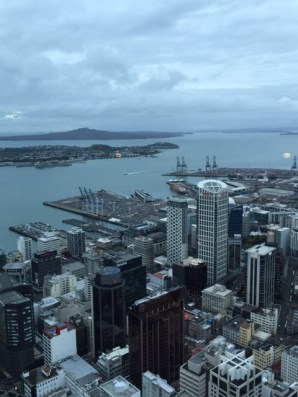 View from the Sky Tower Observation Deck