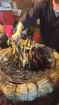 Hanazono Festival Street Food - 'BBQ Fish'