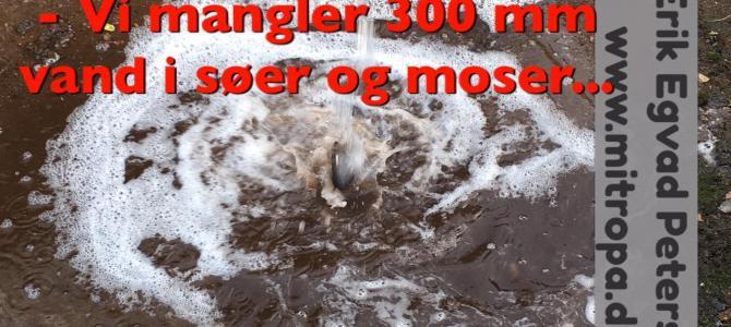 Regnbygerne i dag giver kun få mm vand