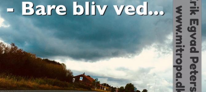 Regn og blæst…..