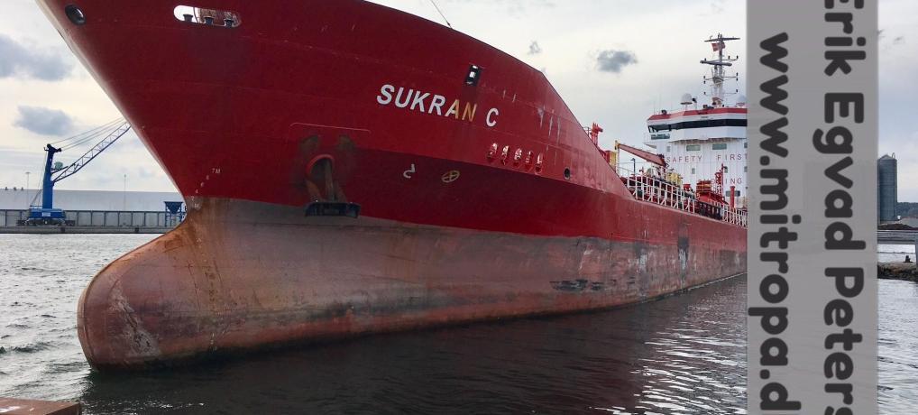 Aabenraa – Tankskib fik maskinproblemer og gik på grund