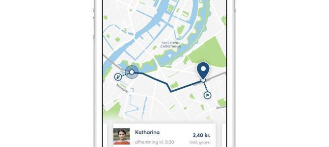 Ny samkørsels-app gør det nemt og grønnere at komme på arbejde