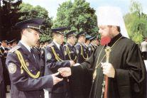 Binecuvântarea absolvenților Academiei de poliție Ștefan cel Mare.