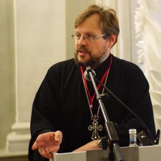 Протоиерей Александр Пелин выступил на конференции в СПбГУ