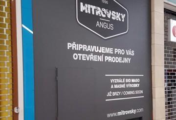 První prodejna Mitrovsky Angus bude otevřena v Olomouci!