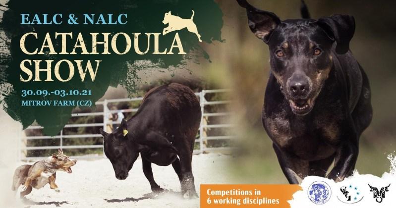Catahoula show 2021 (30. 9. – 3. 10.)