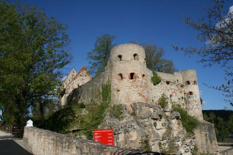 ...und Burg von Pappenheim
