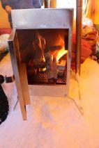 erstes Anfeuern