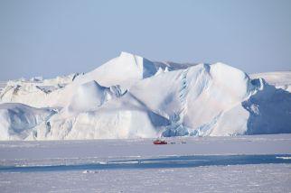 gigantische Eisberge im Eisfjord von Ilulissat