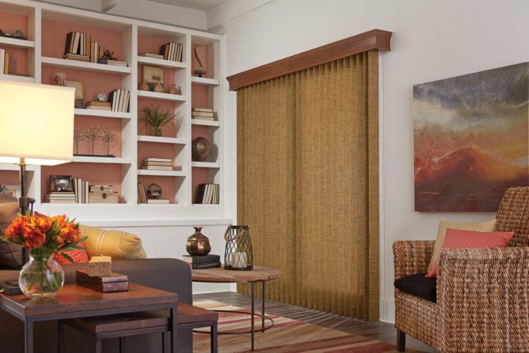 window treatments for doors creating