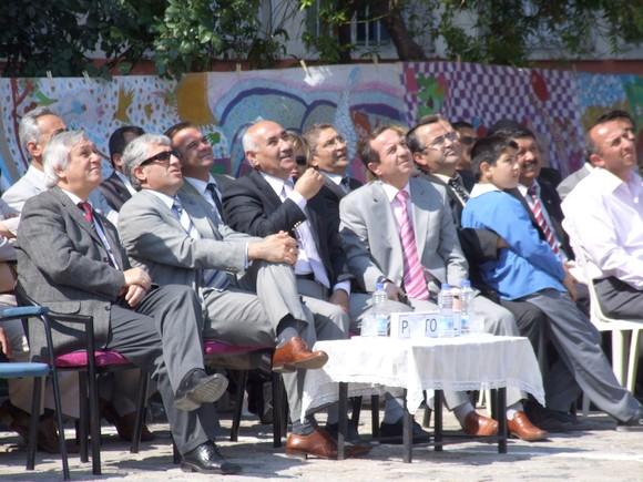 Başkan Enver TUNA, İlköğretim 2.Buluş Şenliğinde..