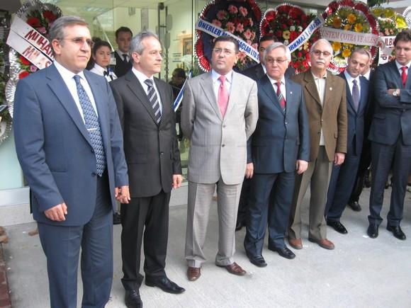 MİTSO Yönetimi Anadolu Bank Milas Şubesinin açılışına katıldı.
