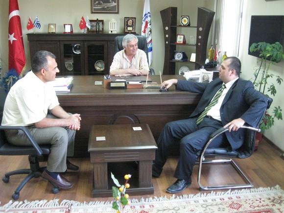 Muğla Vergi İdaresi Başkanından MİTSO Yönetimine anlamlı ziyaret.