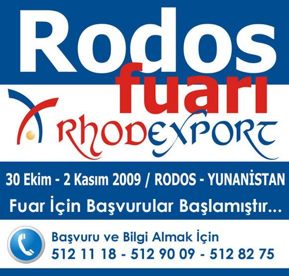 RODOS Türk İhraç Ürünleri Fuarı başvuruları başladı…