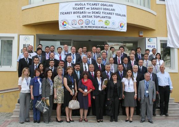 TOBB Üyesi Muğla Odalarının 15. Ortak Toplantısı Milasta yapıldı