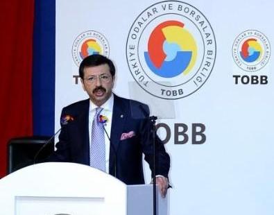 Türkiye Odalar ve Borsalar Birliğinin (TOBB) 65. Genel Kurulu yapıldı.