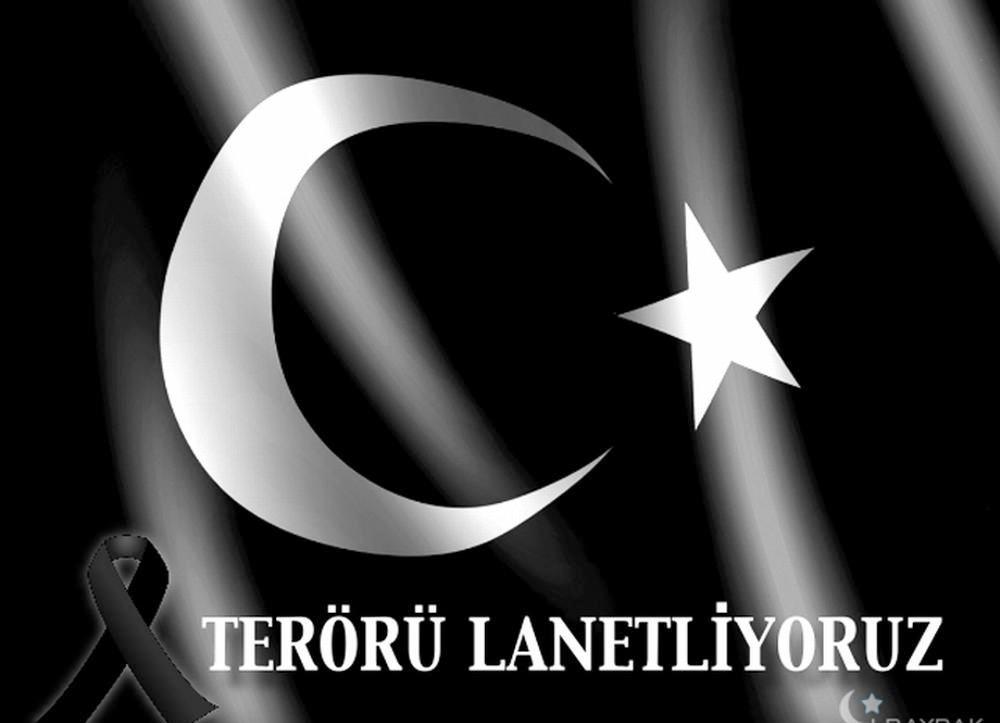 TERÖR BİZİ YILDIRAMAZ!