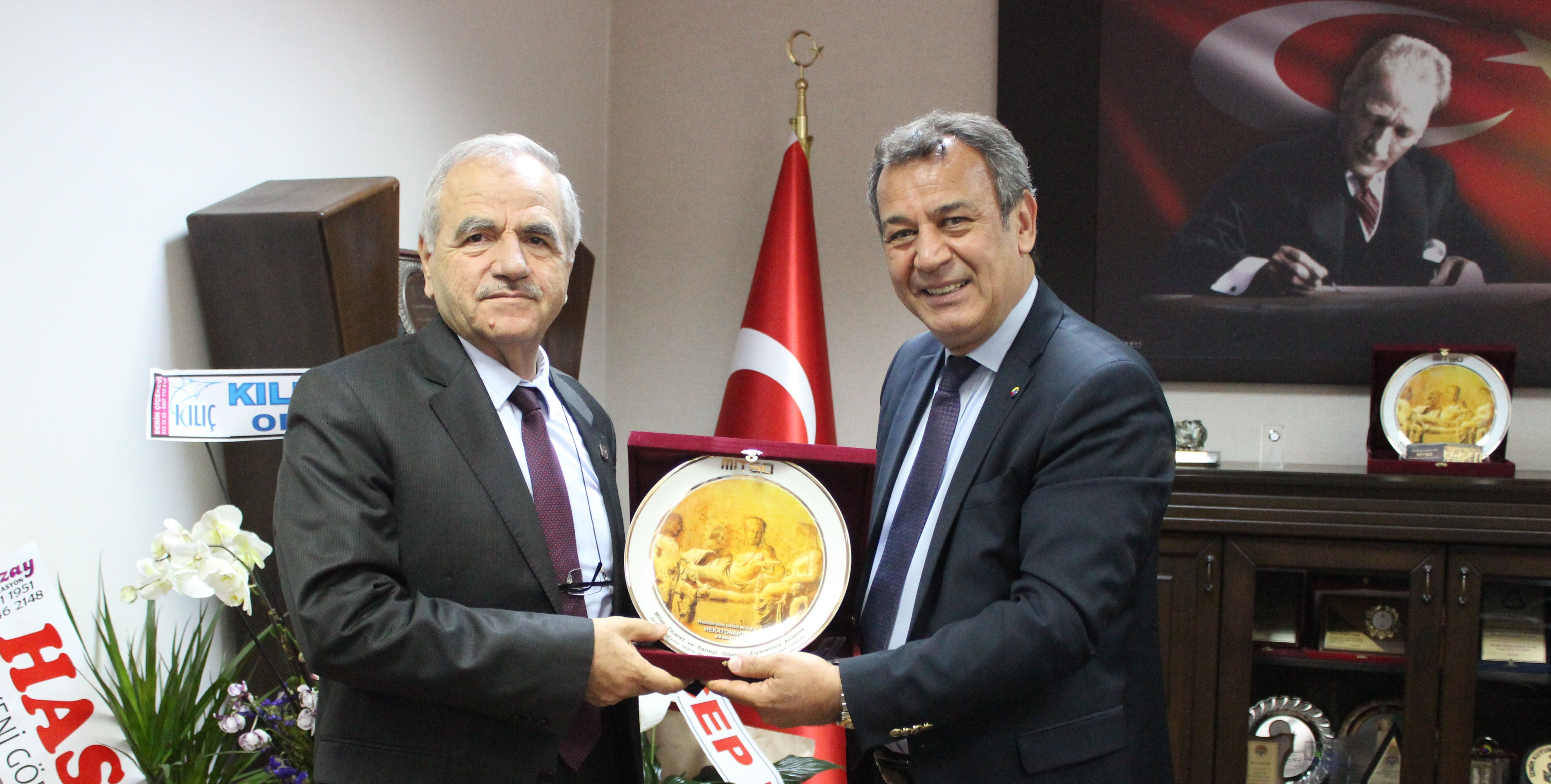 Muğla Sıtkı Koçman Üniversitesi Rektörü Prof. Dr. Harmandar MİTSO'da…