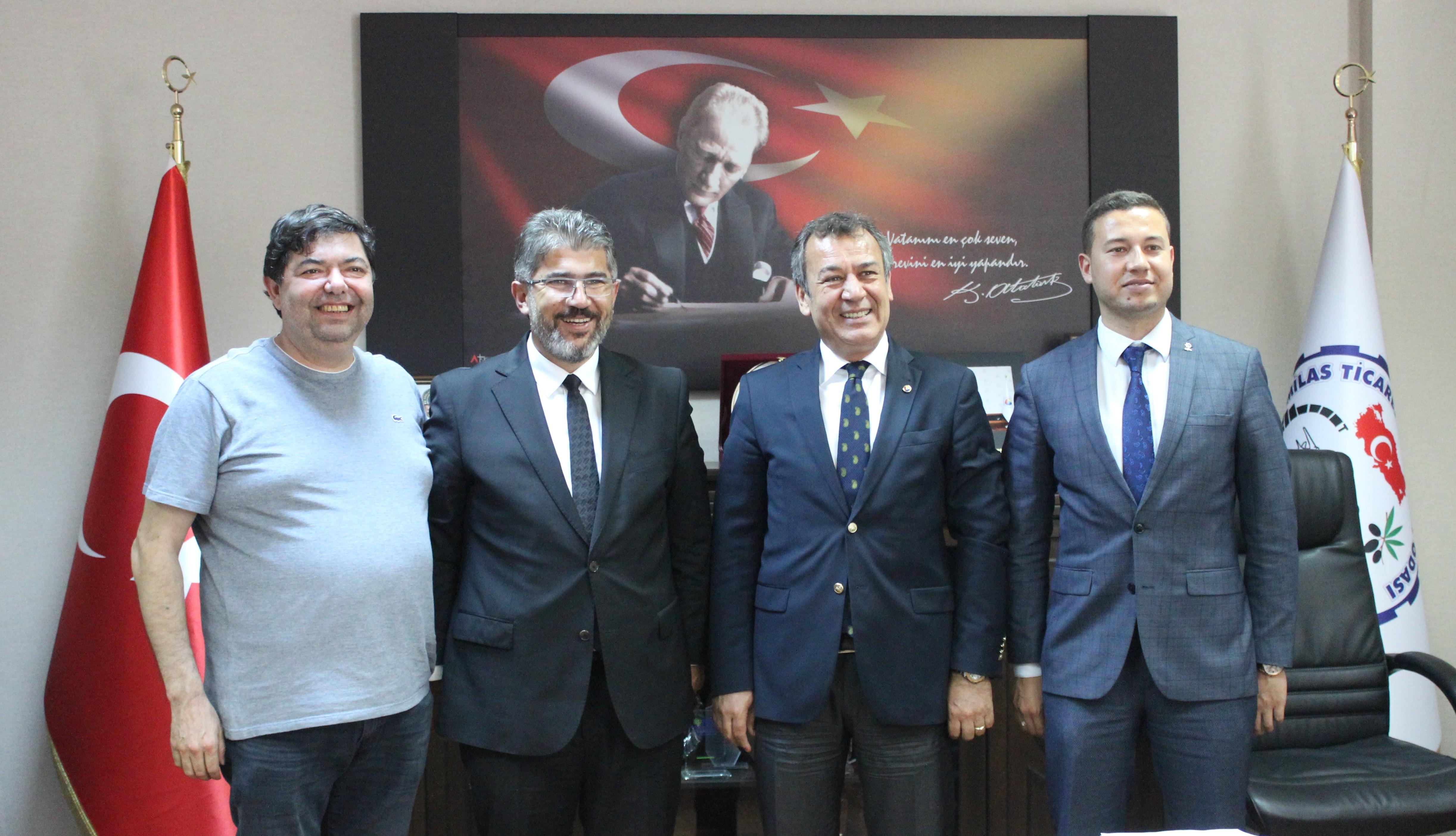 Muğla Milletvekili Nihat Öztürk MİTSO'da…