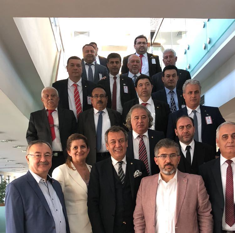 """MİTSO Ankara'da Muğla Milletvekilleri Özyer ve Öztürk ile görüştü:   """"MİLAS'A DOĞALGAZ VE FUAR ALANI İSTİYORUZ"""