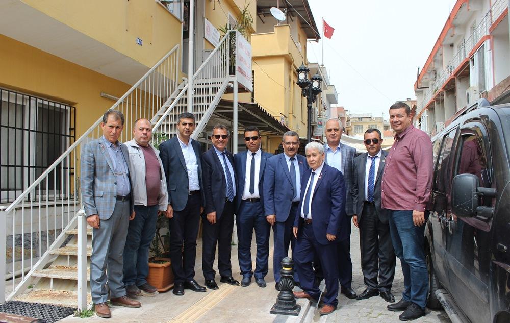 """MİTSO'dan muhtarlara kutlama ziyareti… """"MİLAS'I BİRLİKTE TANITALIM"""""""