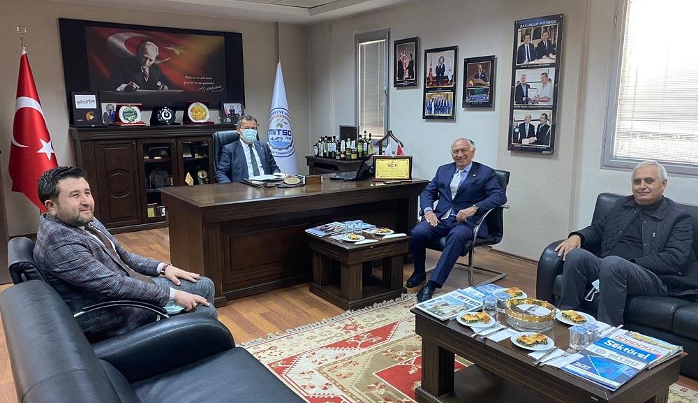 """Muğla Milletvekili M. Yavuz Demir MİTSO'da """"DOĞALGAZ ÇALIŞMALARI BU YIL İÇİNDE BAŞLAYACAK"""""""
