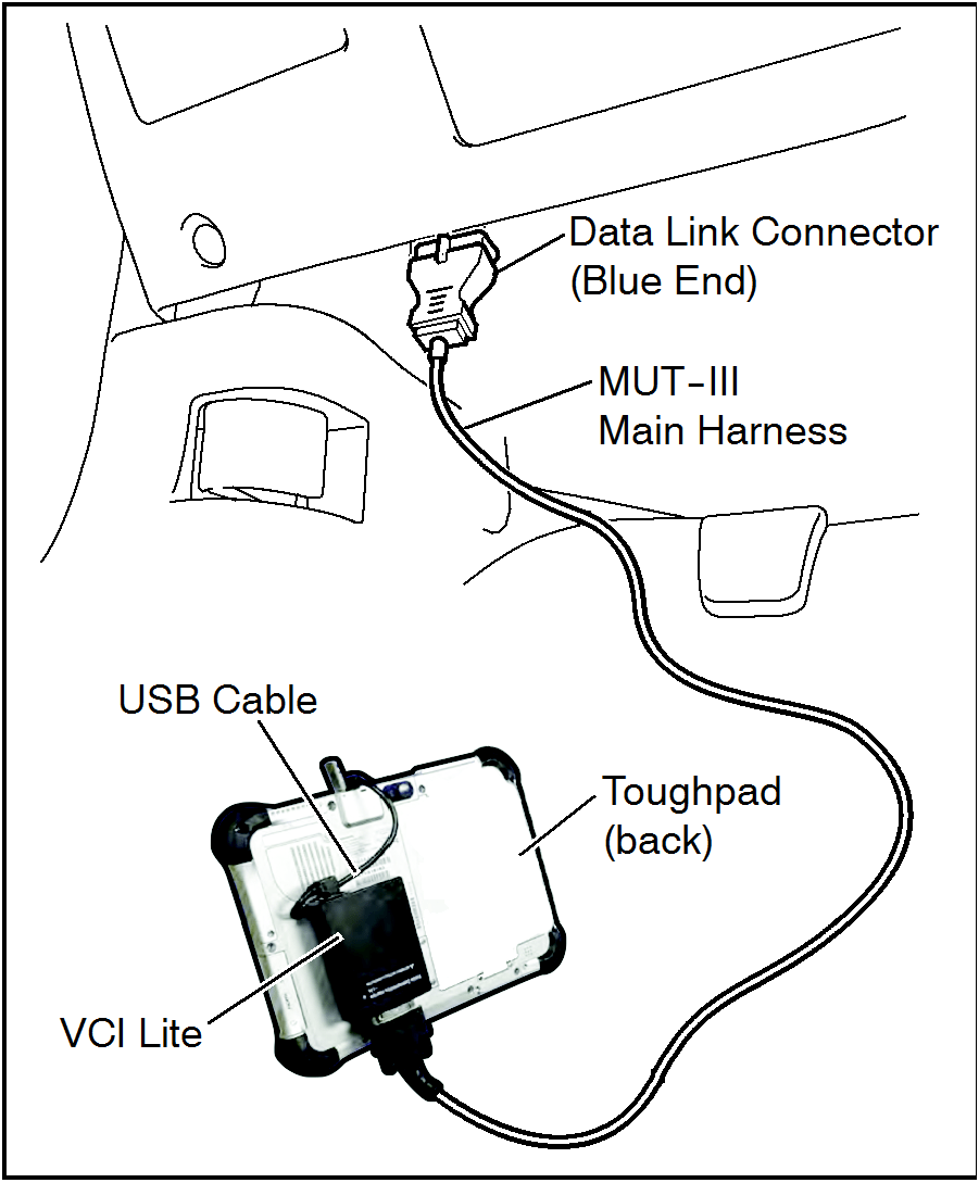 Vehicle's data link connector