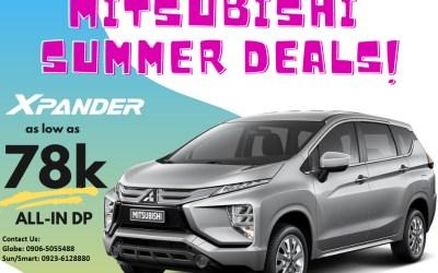 Mitsubishi April 2021 Promotion