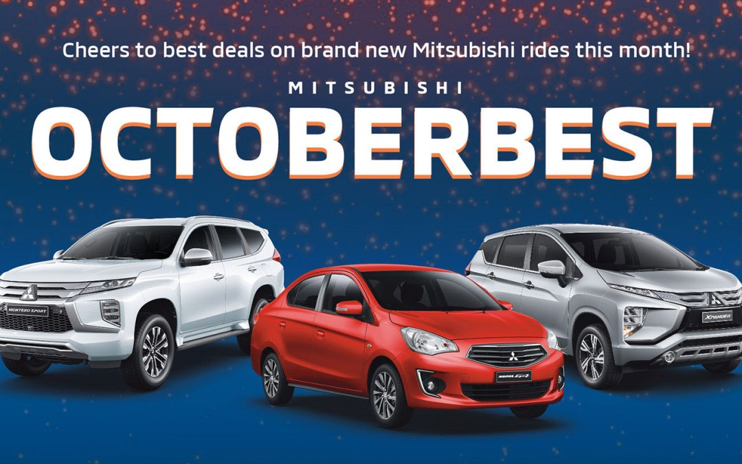 Mitsubishi October 2021 Promotion