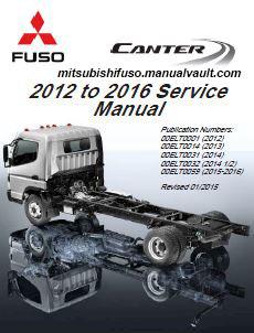 2012-2016 FUSO Service Manual