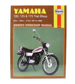 Mitsui Yamaha Limited Workshop Manual Yamaha DT100 7683