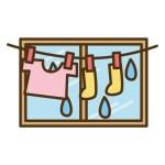 梅雨の洗濯物を部屋干しする時の注意点 早く乾かすコツと臭い対策も