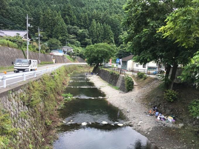 北浅川恩方マス釣り場