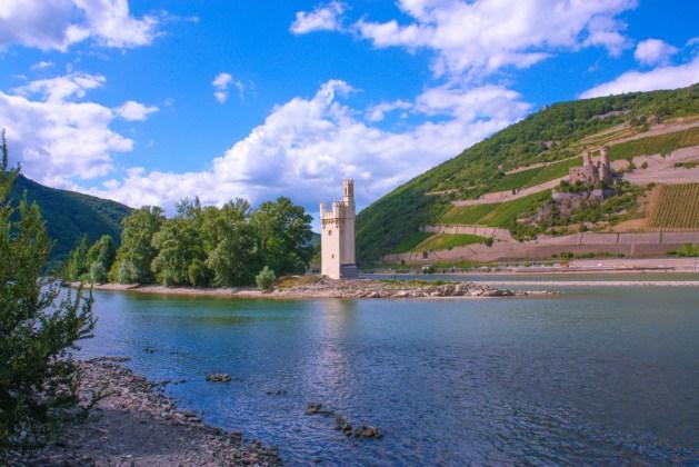 Den Mäuseturm gibt es seit dem 13. Jahrhundert. Foto: Tourist-Info Bingen am Rhein.