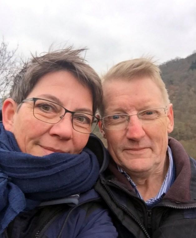 Die internationalsten Winzer am Mittelrhein: Christin Jordan und Lars Dalgaard.