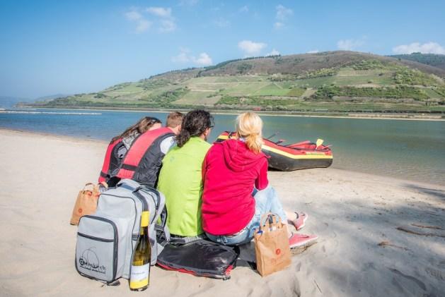 Rafting am Rhein: Ein Kauber Unternehmer macht's möglich. Foto: Profitable PR