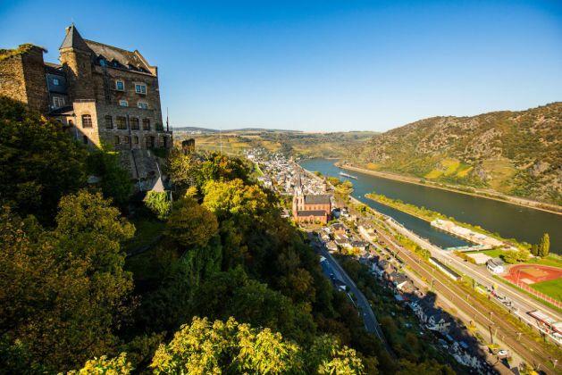 Eine neuer Tunnel hätte Oberwesel vom Bahnlärm entlasten können. Foto: Romantischer Rhein Tourismus / Henry Tornow.