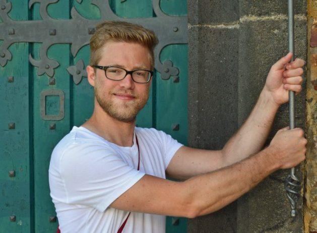 Christoph Bröder ist seit dem 1. Juni Burgenblogger auf Sooneck. Foto: Entwicklungsagentur Rheinland-Pfalz