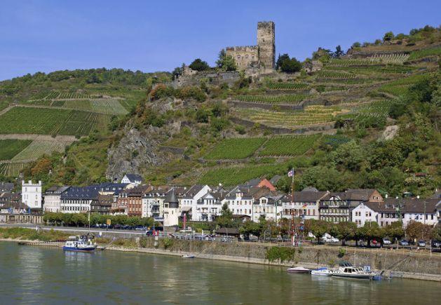 Kaub ist die kleinste Stadt am Mittelrhein. Foto: Romantischer Rhein Tourismus / Friedrich Gier.