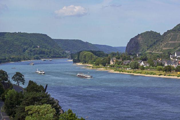 Unesco-Welterbe ehrenhalber: Leutesdorf am Unteren Mittelrhein. Foto: Romantischer Rhein Tourismus / Friedrich Gier.
