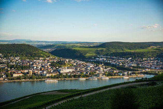 Blick auf Bingen. Foto: Romantischer Rhein Tourismus / Henry Tornow
