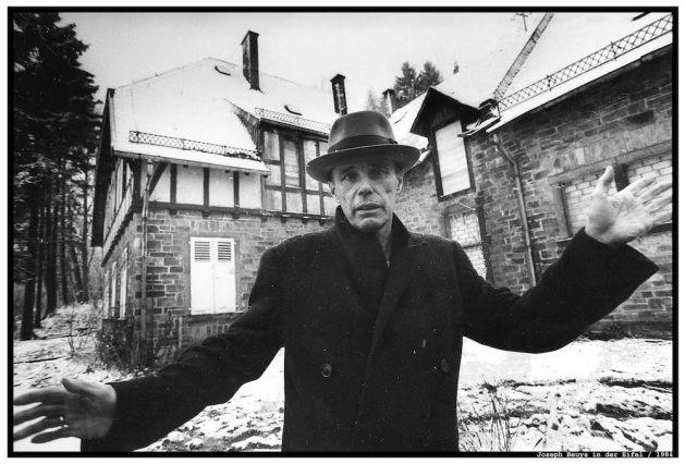 Piel fotografierte u.a. Joseph Beuys.