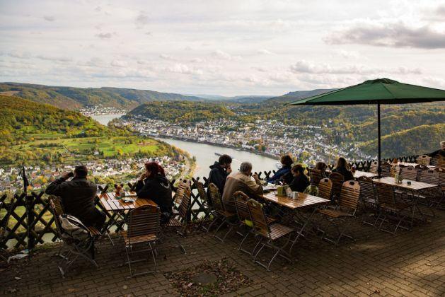 Boppard vom Gedeonseck aus. Foto: Romantischer Rhein Tourismus / Henry Tornow