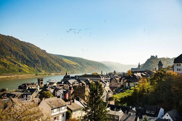 Oberwesel aus Sicht von Henry Tornow. (Romantischer Rhein Tourismus)