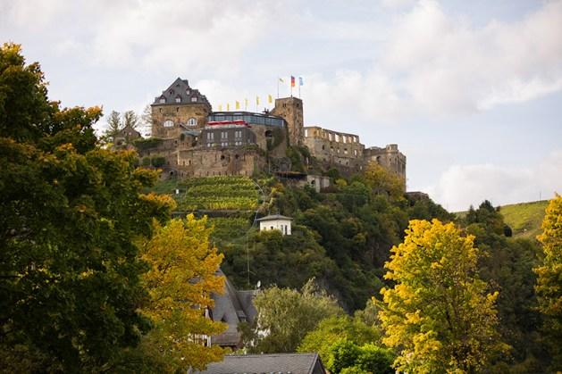 Schloss Rheinfels über St. Goar. Foto: Romantischer Rhein Tourismus / Henry Tornow
