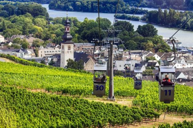 Seilbahn in Rüdesheim. Foto: RÜD Tourismus AG / Moritz Kertzscher