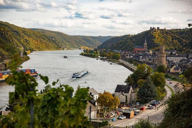 Rheinschiffe bei Oberwesel. Foto: Henry Tornow / Romantischer Rhein Tourismus
