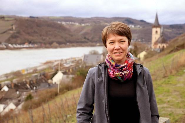 Kathrin Büschenfeld ist Apothekerin und Lorch-Fan. Foto: Ralf Kaltenbach / kalbacho