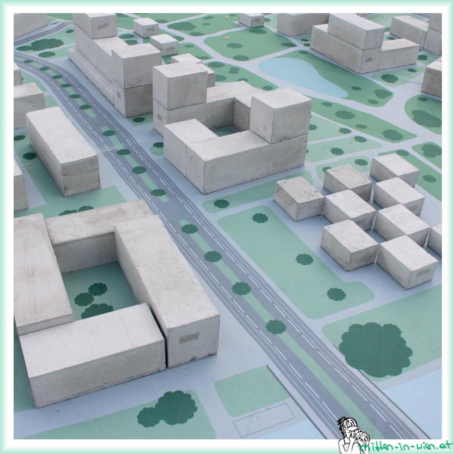 Einige Gebäude in der Milliardenstadt