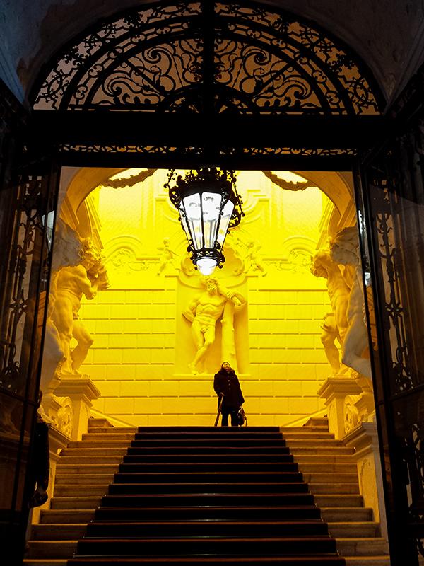 """Yellow corridor"", 1997"